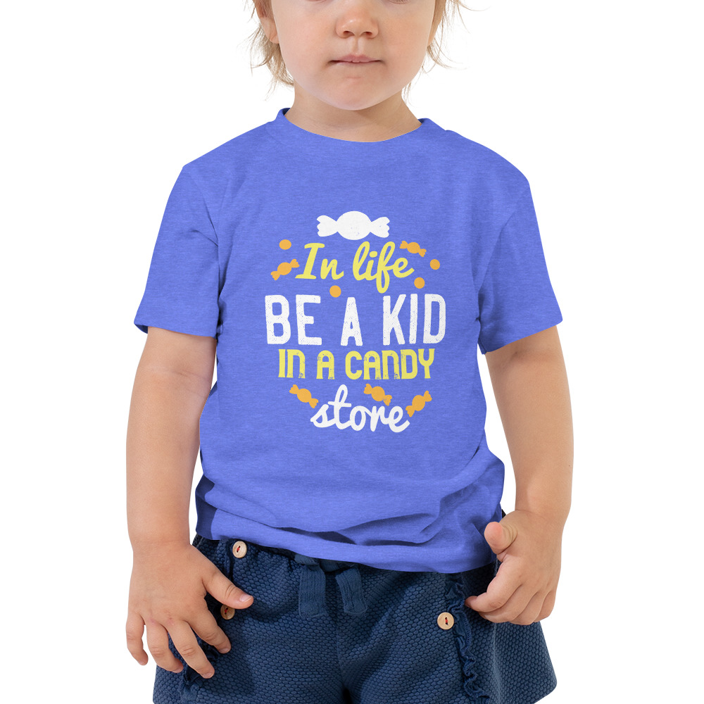 Candy Store Toddler Short Sleeve Tee – Free Shipping