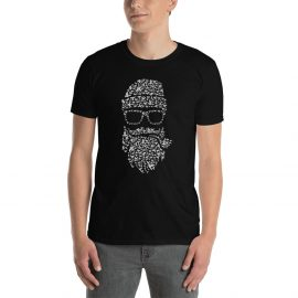 DON'T FPRGET BEARD MAN Short-Sleeve Unisex T-Shirt – FREE DELIVERY