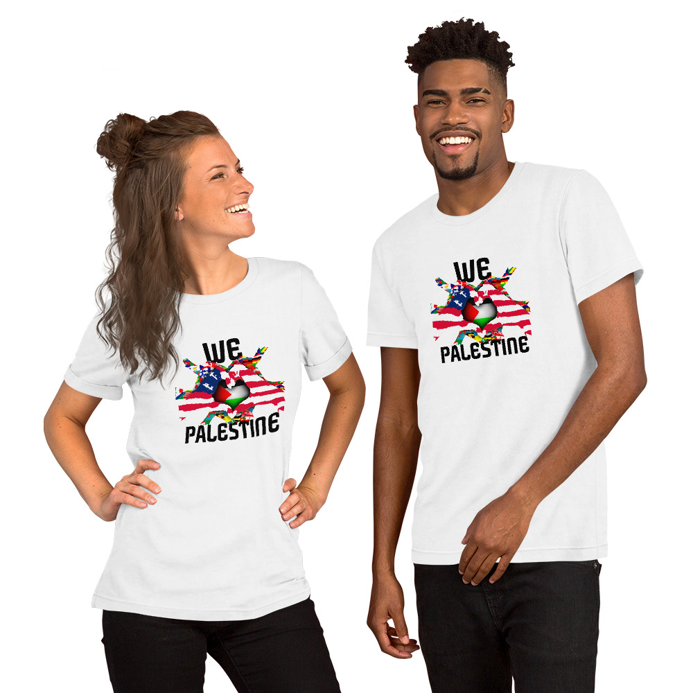 Support Palestine | Fight Oppression | Love Peace T – Shirt  | Free  Shipping