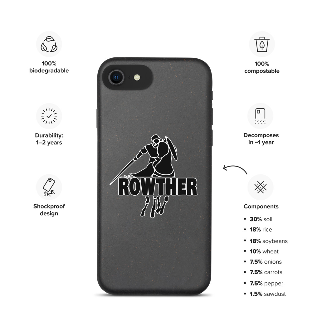 Rowther Biodegradable iPhone Case – Free Shipping
