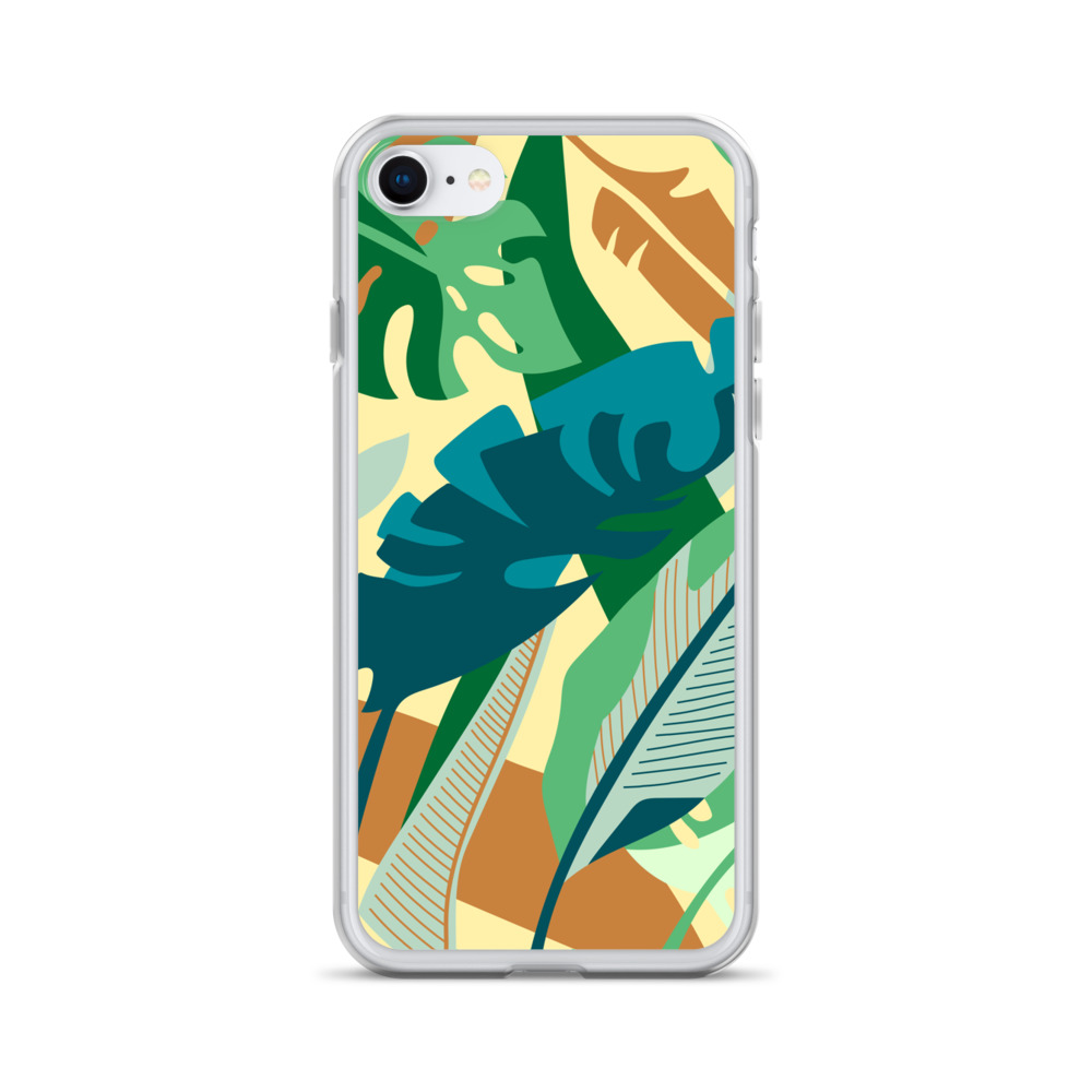Tropical Leaves iPhone Case – Free Shipping