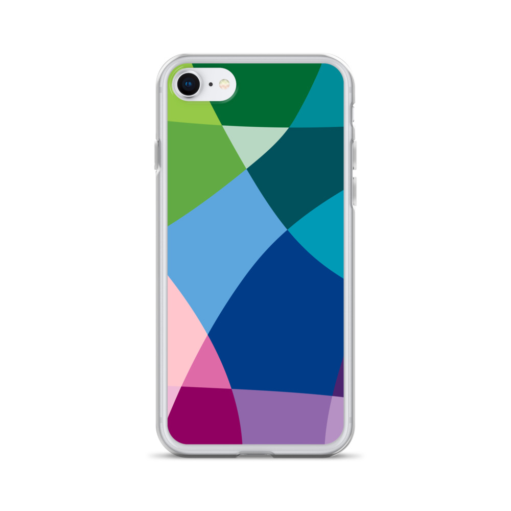 Abstract Colour iPhone Case – Free Shipping