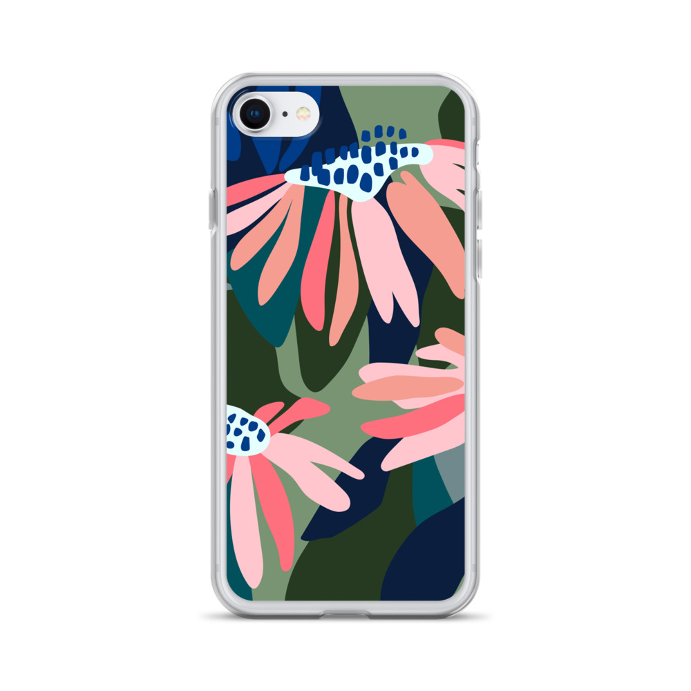 Flower Print iPhone Case – Free Shipping