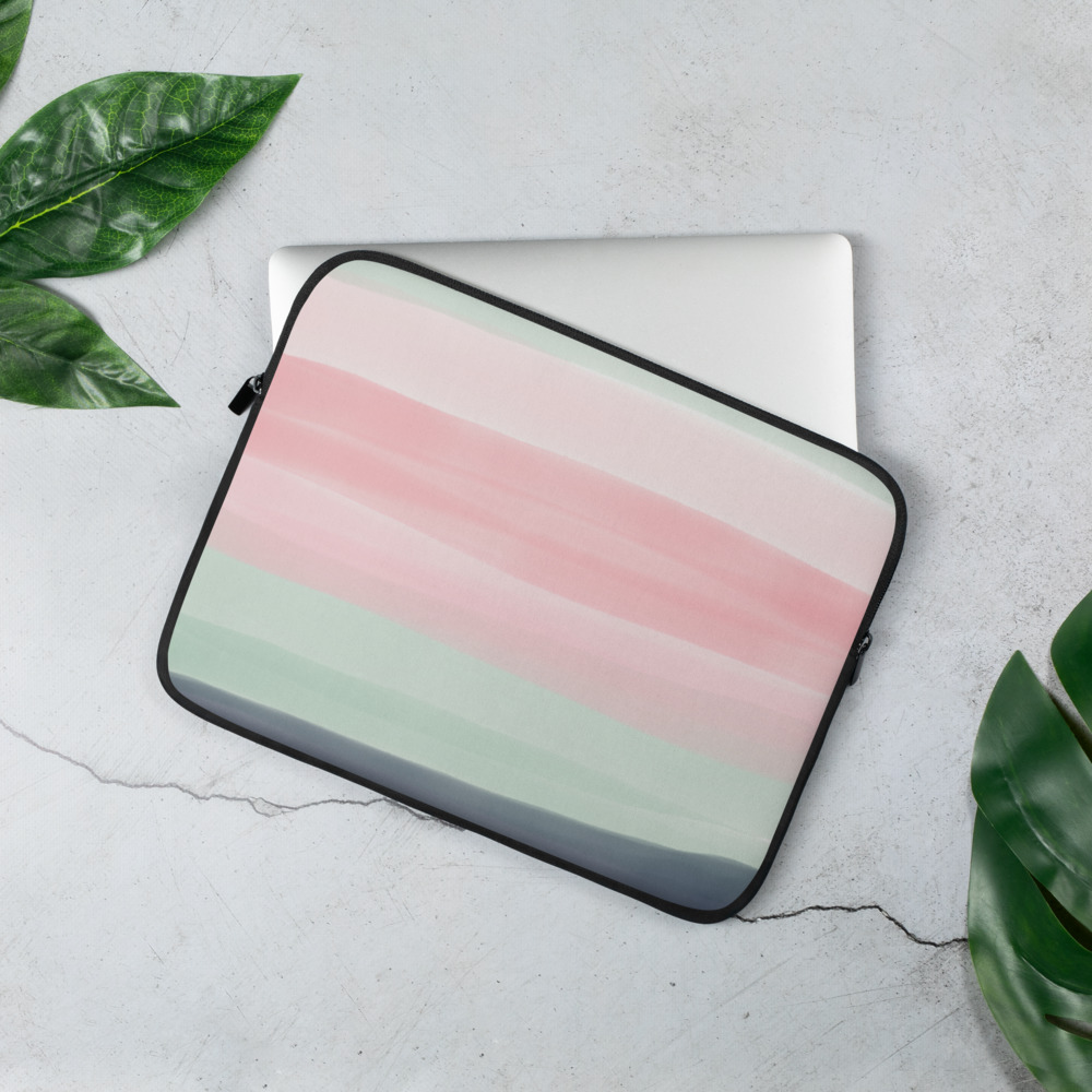 Water Colour Laptop Sleeve – Free Shipping