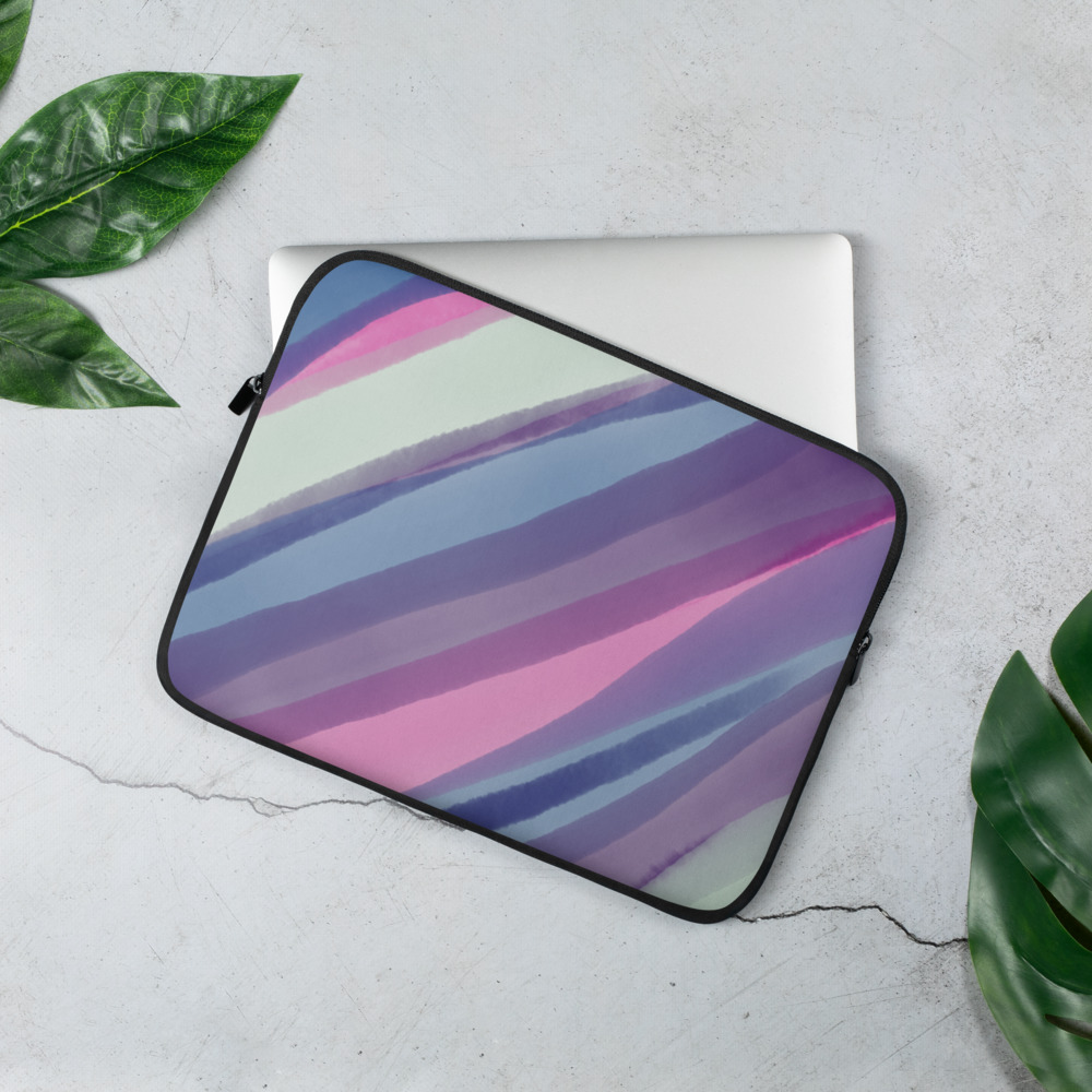Watercolor Laptop Sleeve – Free Shipping
