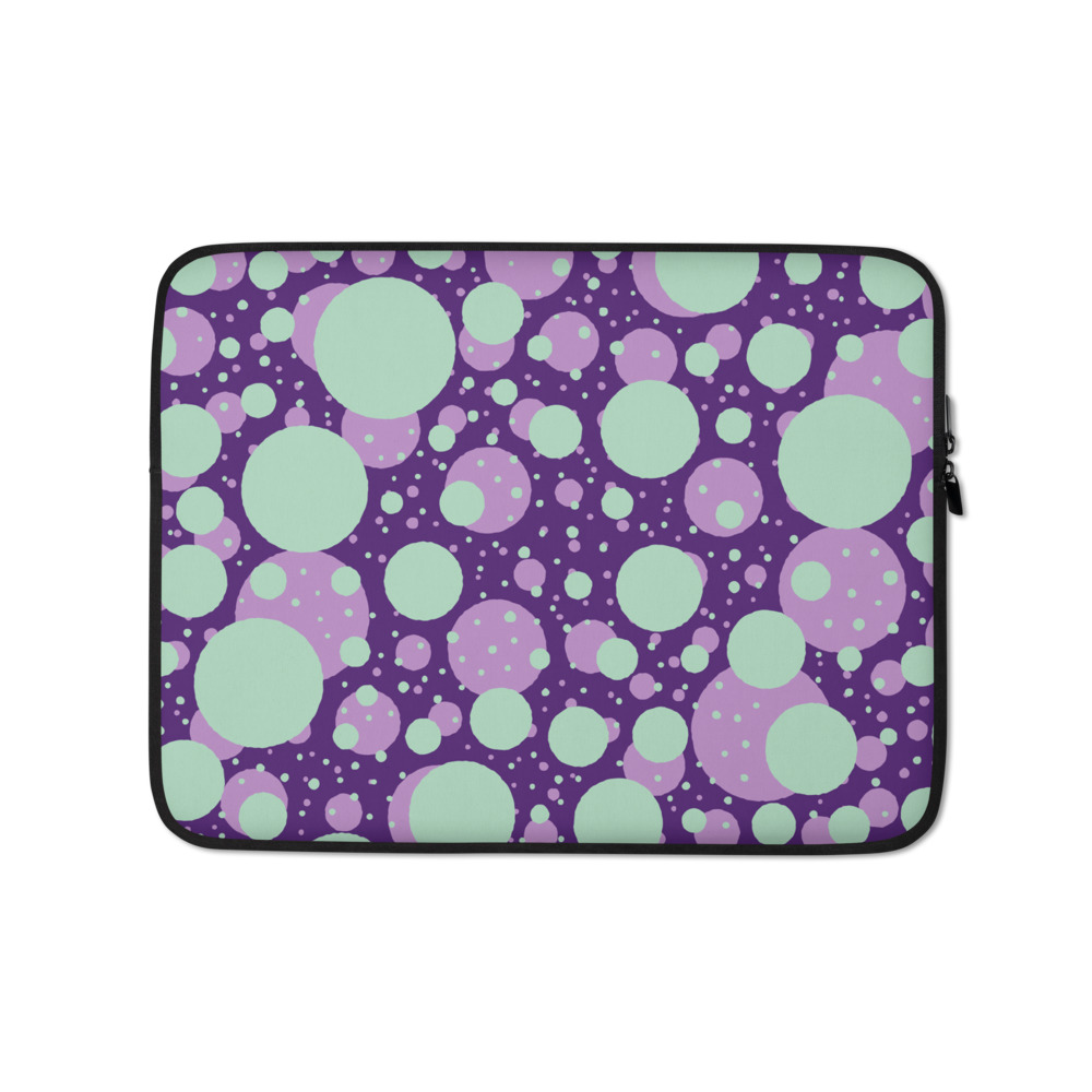 Mysterious Bubbles Laptop Sleeve – Free Shipping