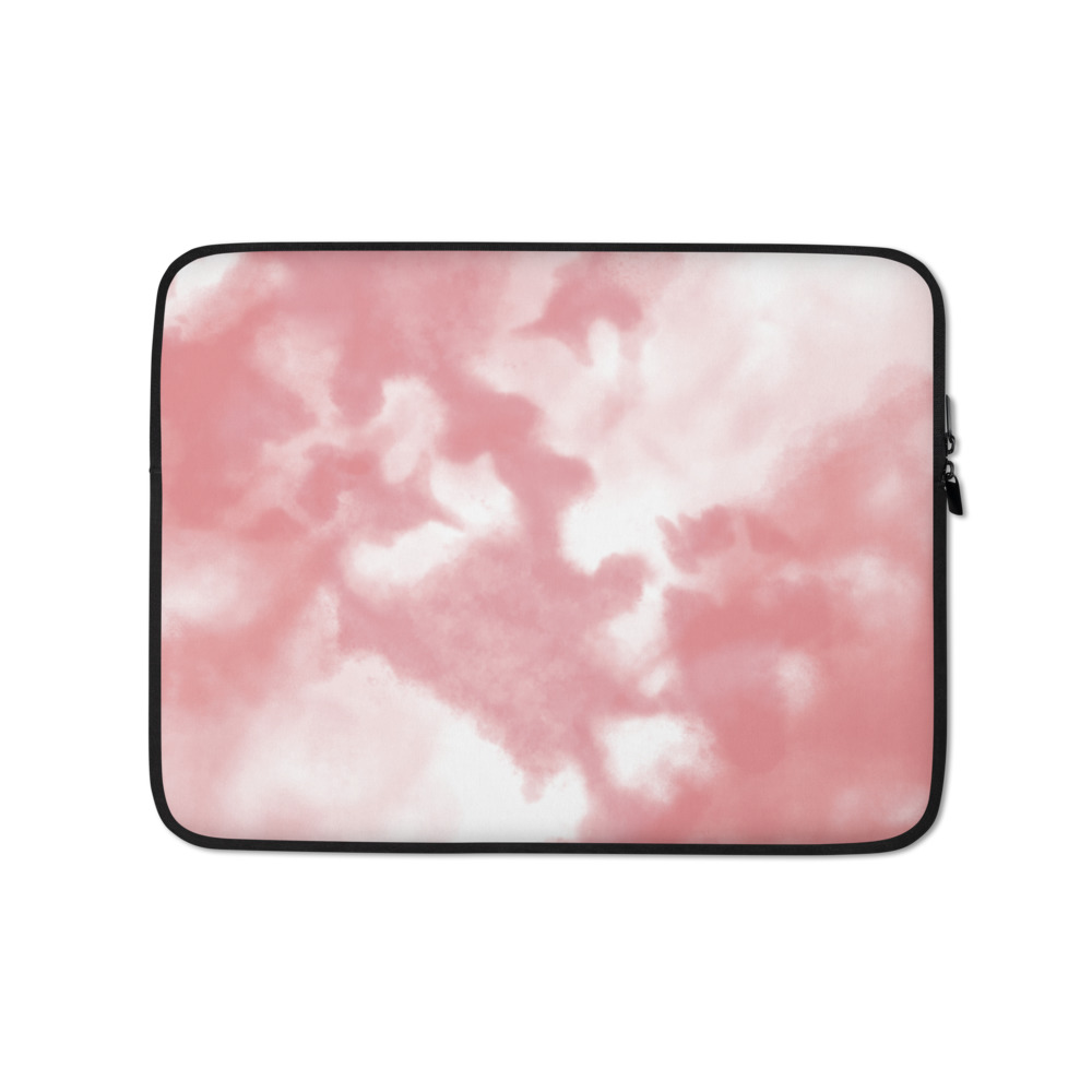 Pink Clouds Laptop Sleeve – Free Shipping