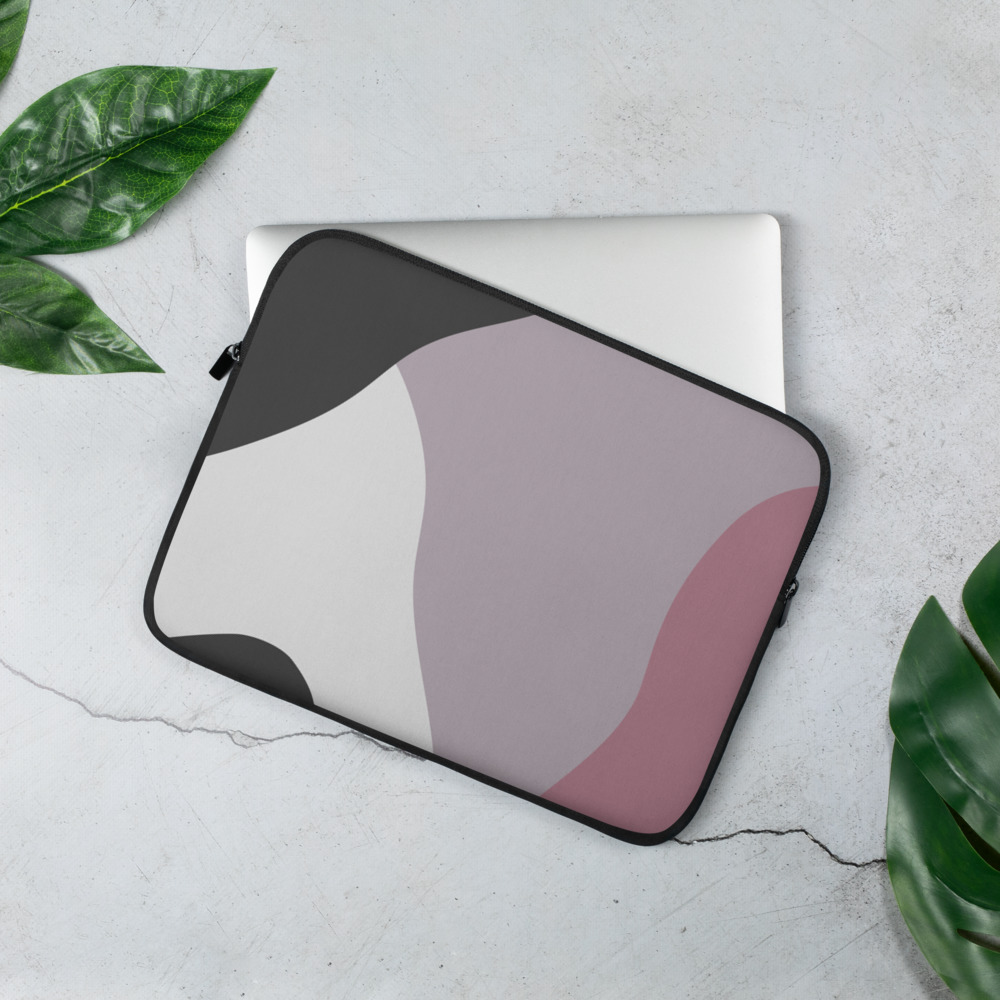 Abstract Shapes Laptop Sleeve – Free Shipping