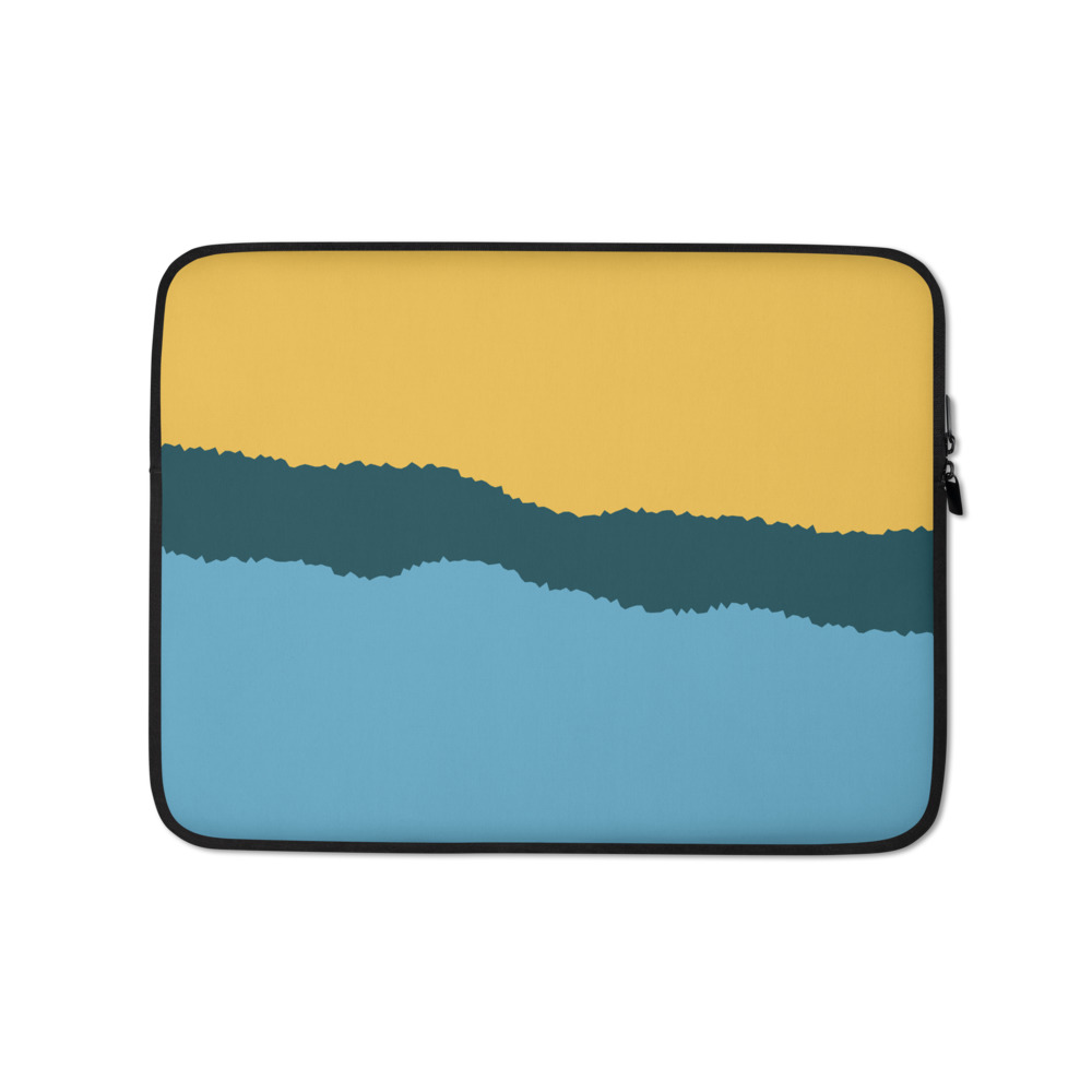 Where The Sand Meets The Sea Laptop Sleeve – Free Shipping