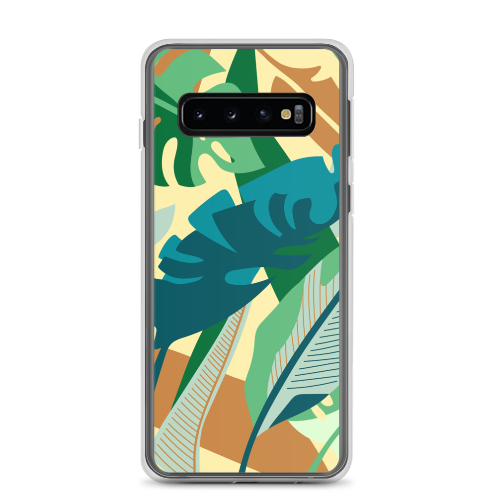 Tropical Leaves Samsung Case – Free Shipping