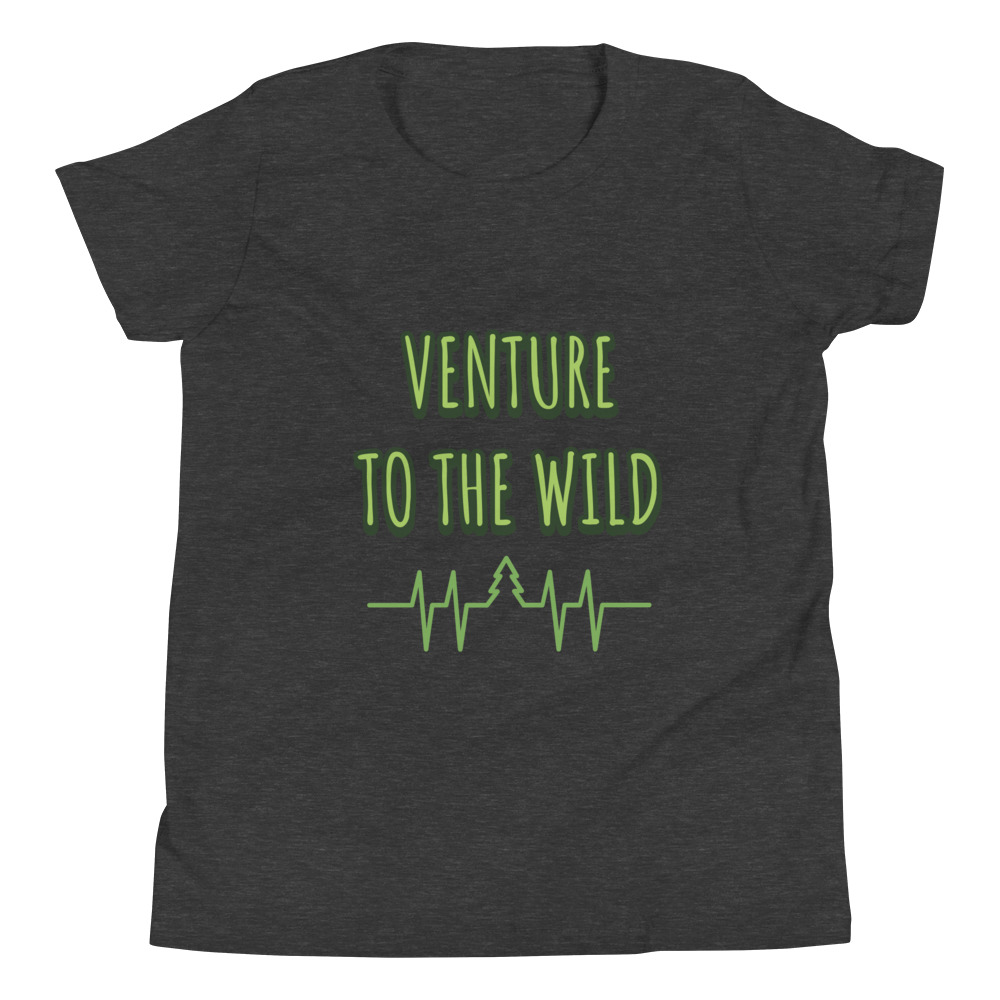 Venture To The Wild Youth Short Sleeve T-Shirt – Free Shipping